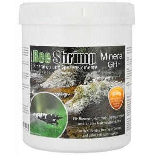SaltyShrimp Bee Shrimp Mineral GH+ sale per acquari con caridine 850 grammi
