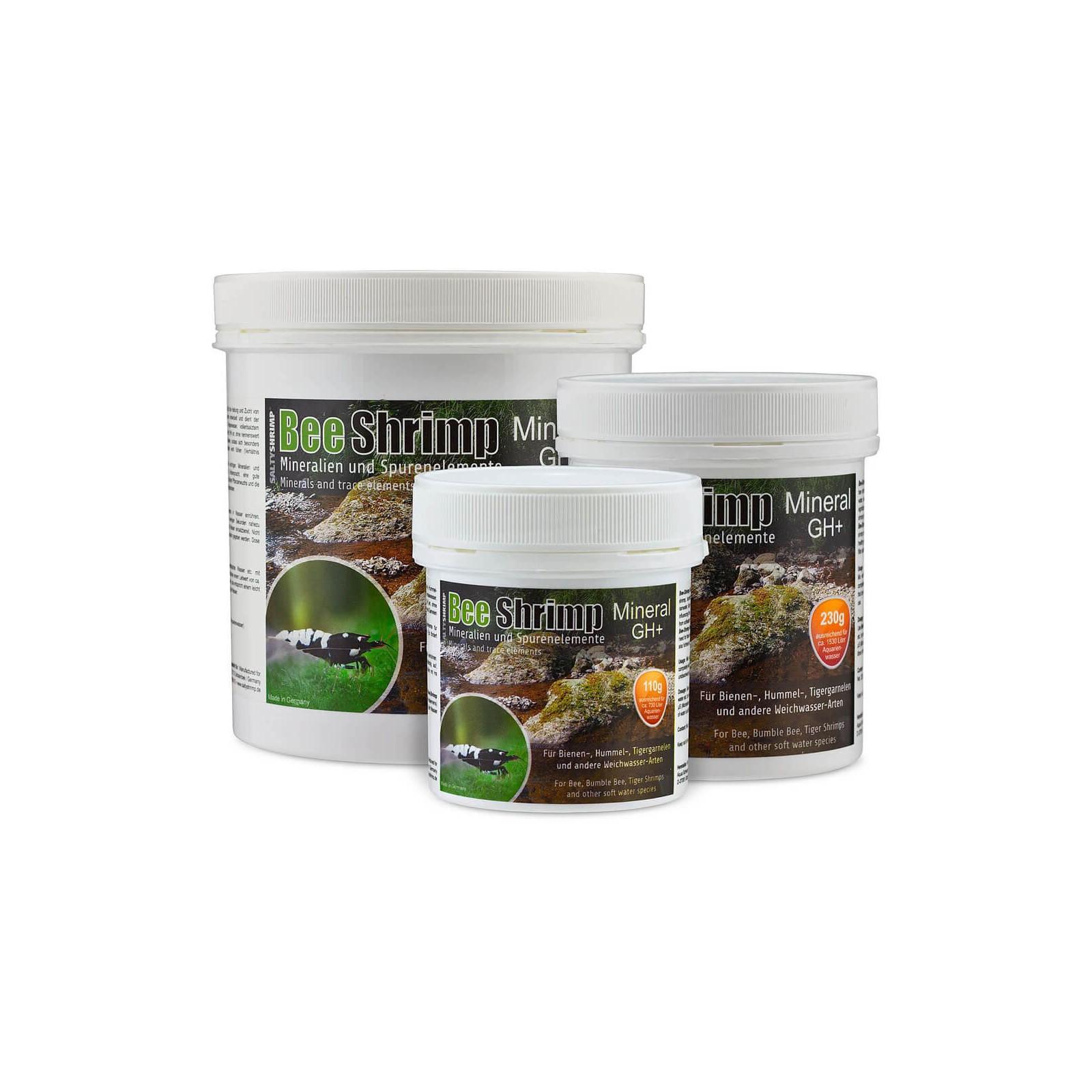 SaltyShrimp Bee Shrimp Mineral GH+ sale per acquari con caridine