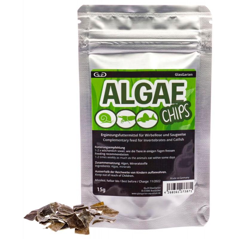 GlasGarten Algae Chips snack di alghe per caridine e gamberetti