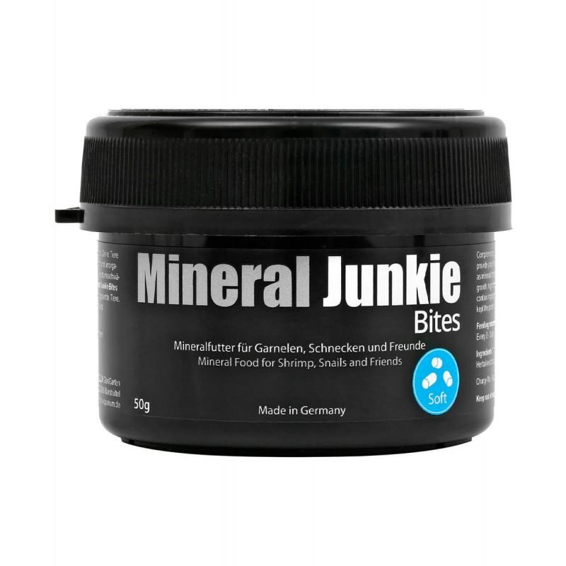 GlasGarten Mineral Junkie Bites alimento minerale per caridine 50 gr