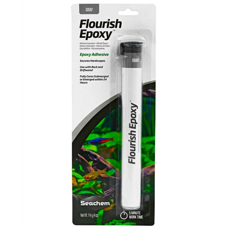 Seachem Flourish Epoxy Gray collante epossidico per acquario 114 g