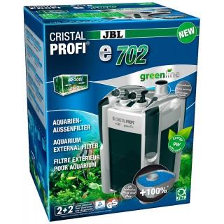 JBL Filtro Esterno Cristal Profi E702 Green Line per acquari fino a 200 litri