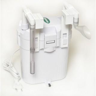 Dennerle 5790 Scaper's Flow filtro esterno con aggancio bordo vasca per acquari da 30 a 120Lconsumo5,6W portata max 360 L/h