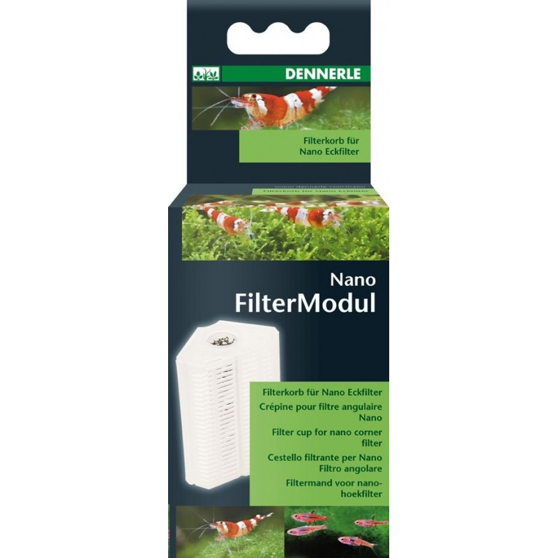 Dennerle 5845 Nano FilterModul cestello filtrante per Nano filtro angolare