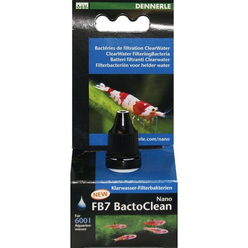 Dennerle 5855 Nano FB7 BactoClean Batteri filtranti viventi ClearWater per acqua dolce cristallina e sana
