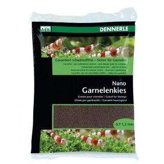 Dennerle 5856 Nano Garnelemkies Sumatra Marrone Ghiaia per gamberetti d'acquario 2 kg