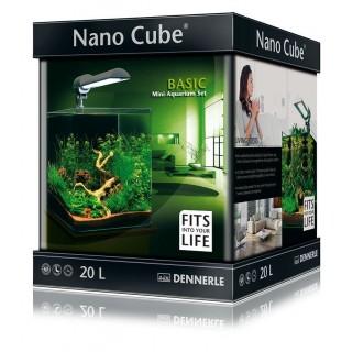 Dennerle 5901 Nano Cube Basic Complete 20 Litri Misure 25x25x30h acquario completo