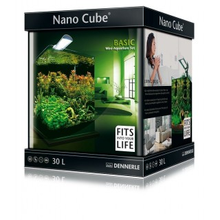 Dennerle 5902 Nano Cube Complete 30 Litri Misure 30x30x35h acquario completo