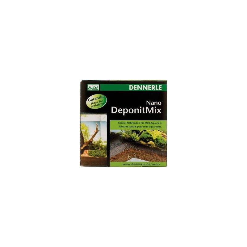 Dennerle 5912 Nano DeponitMix Materiale speciale per fondo di mini acquari Miscela pronta per l'uso 1Kg