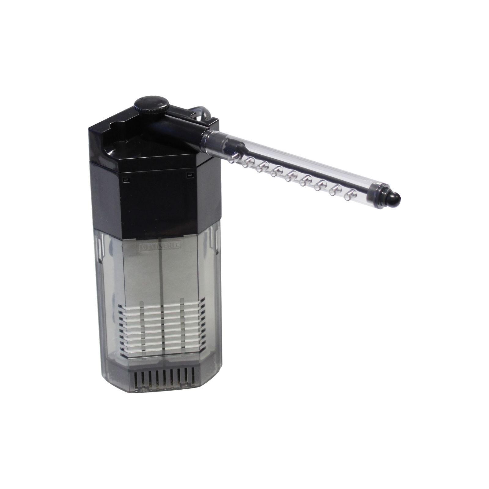 Dennerle 5925 Nano Filtro angolare compatto e ad alto rendimento per mini-acquari