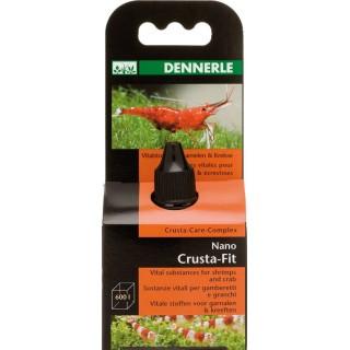 Dennerle 5931 Nano Crusta Fit Vitamine + Oligoelementi per Gamberetti d'acquario 15ml per 600 litri