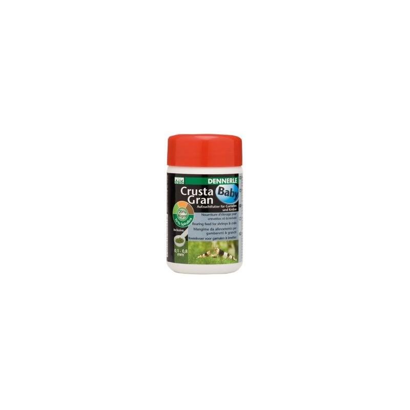Dennerle 5941 Crusta Gran Baby mangime per Gamberetti e Granchi granul 0.8 mm 100ML