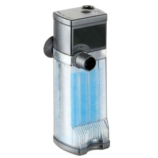 Eden Filtro Interno 304 con Portata Regolabile da 120 a 240 l/h Consumo 5 watt per acquario