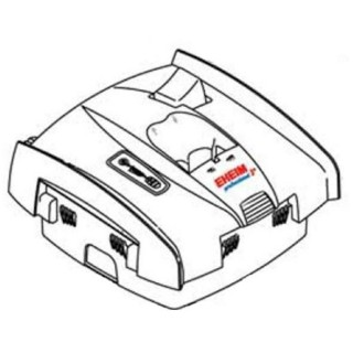 Eheim 1276000 Ricambio Testata Completa per Filtri Professionel III Elettronic 2076
