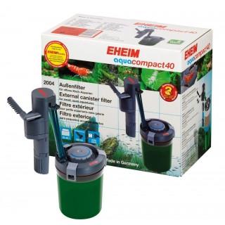 Eheim Aquacompact 40 - Filtro Esterno Completo di Materiale Filtrante per Acquari Aperti fino a 40 Litri