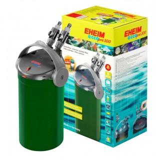 Eheim Filtro Esterno EccoPro 300 Modello 2036 750L/H 8W Completo di Materiali Filtranti per Acquari Fino a 300 Litri