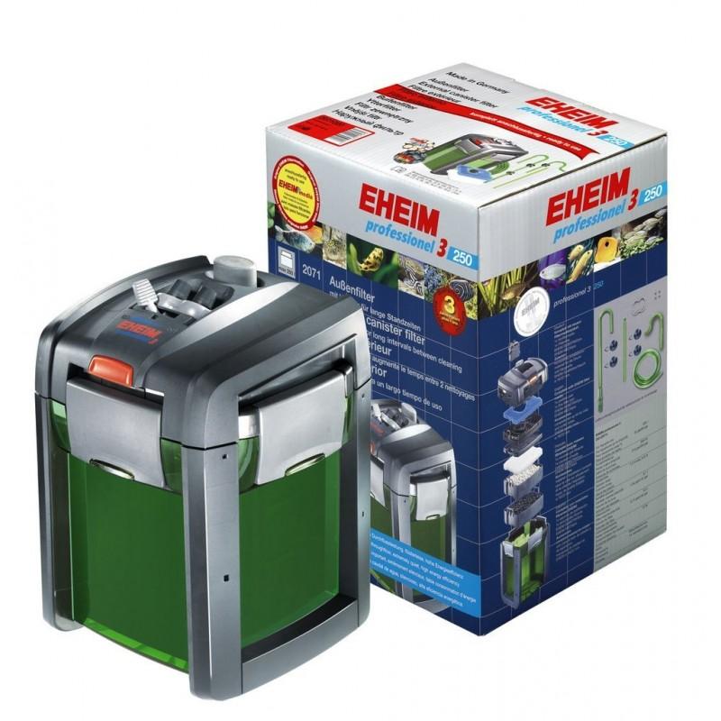 Eheim Filtro Esterno Professionel 3 2071-950 l/h 12W Completo di Materiali Filtranti