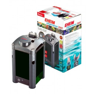 Eheim Experience 250T Termofiltro esterno completo di Materiali Filtranti per Acquari fino a 250 Litri
