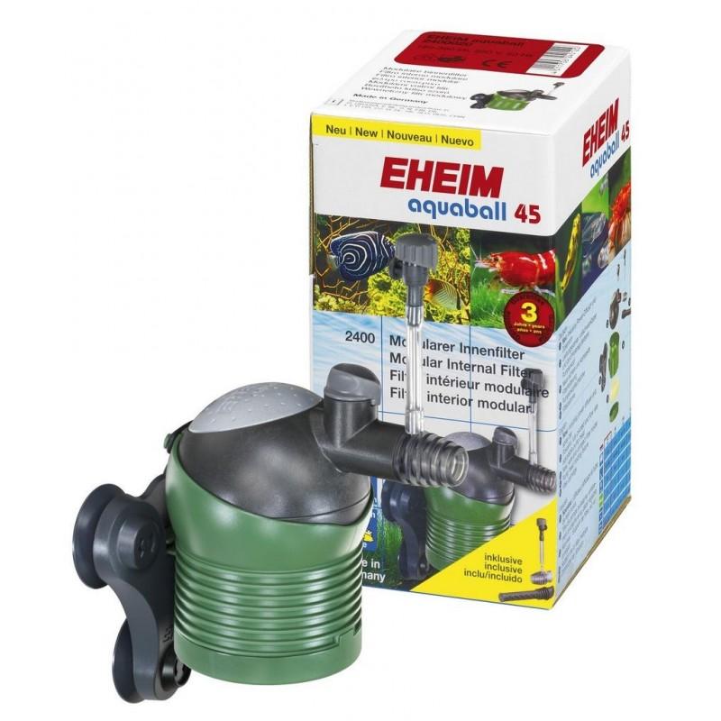 Eheim Aquaball 45 Filtro Interno Modulare Completo di Pompa Regolabile, Sistema Venturi e Spray Bar per acquario