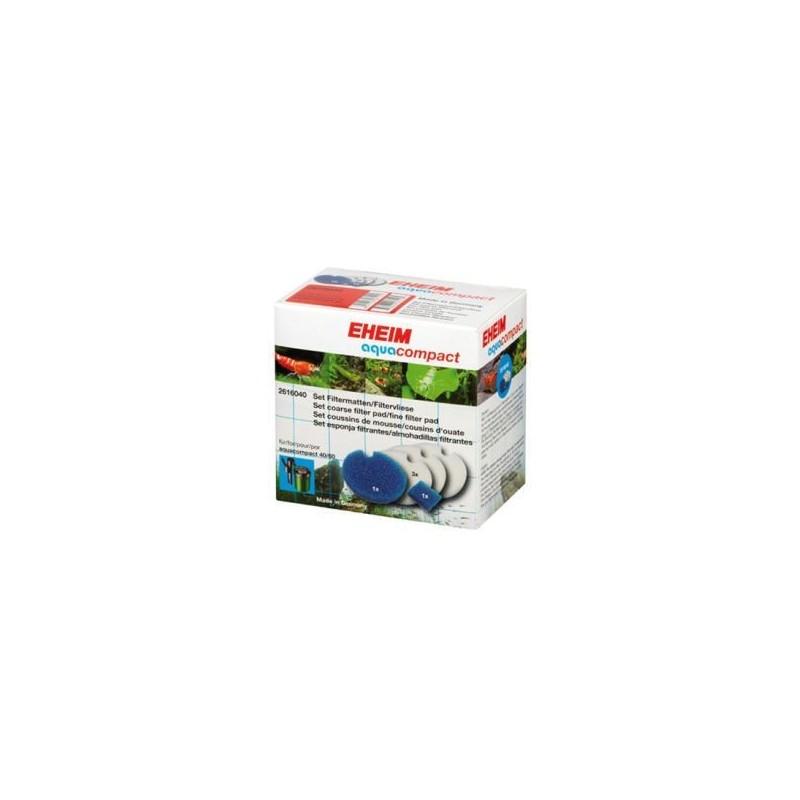 Eheim Set Di Pad Filtranti Per Filtro Aquacompact 40/60