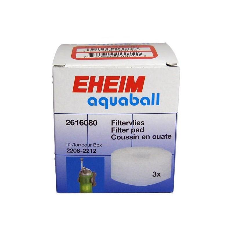 Eheim 2616080 Ricambio Spugna Fine per Filtri Interni Aquaball 60/130/180 - 3 Pezzi