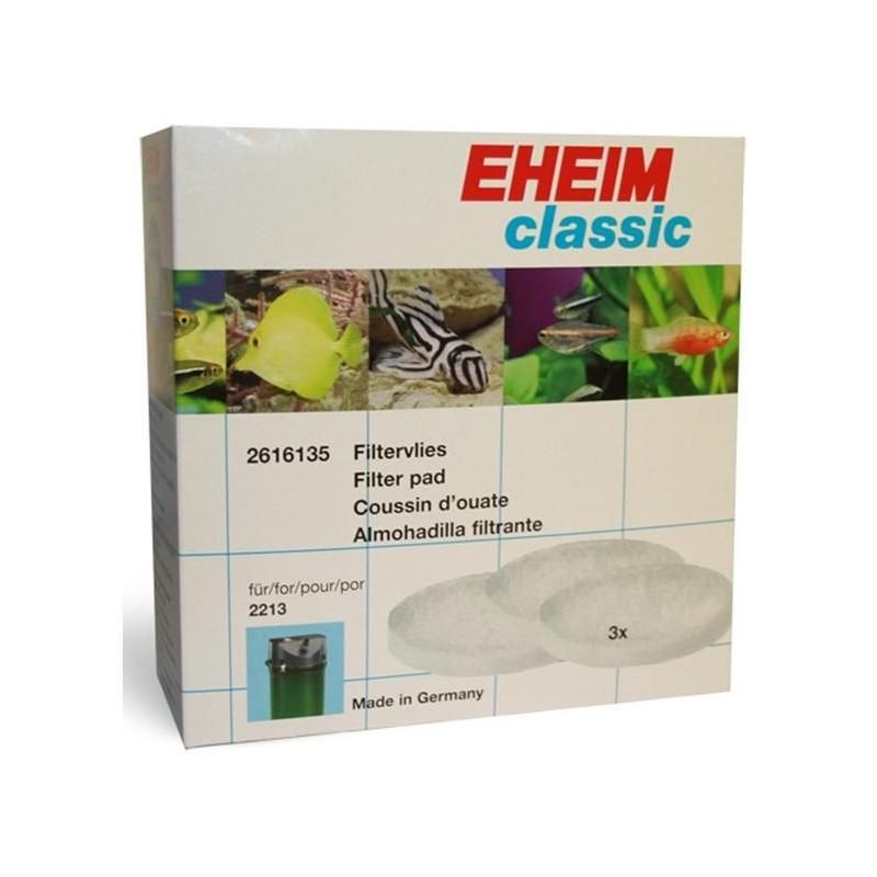EHEIM 2616135 Ricambio Spugne ( 3 bianche) per filtro Classic 2213