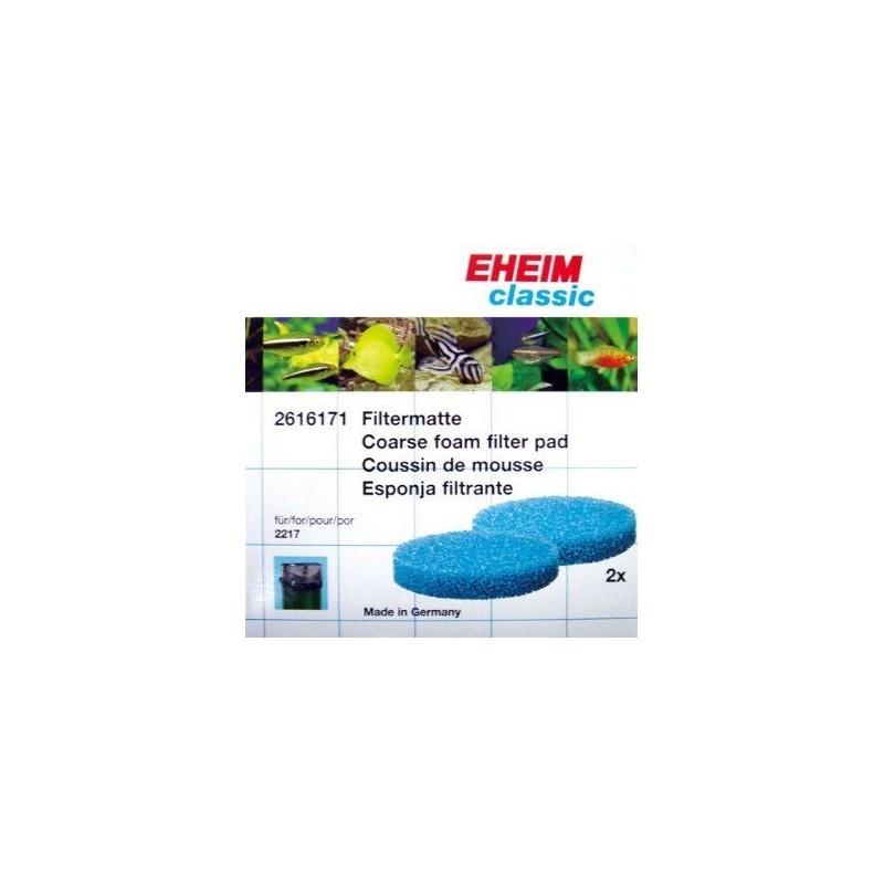 Eheim 2616171 spugne Filtranti (2 Blu) Per Filtro Esterno Classic 2217