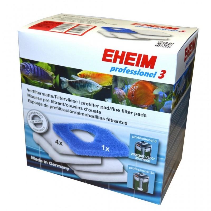 EHEIM Ricambio spugne per filtri Professionel 3 2071 - 2073 - 2074 - 2075 spugne di ricambio (quattro bianche una blu)