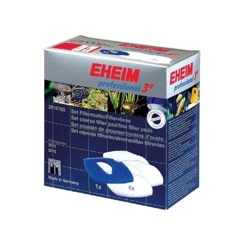 EHEIM Ricambio Spugne 4 bianche + 1 blu per filtri 2076/2078