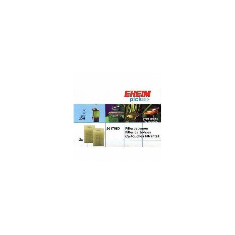 EHEIM ricambio Spugna per filtro Pick Up 2008 (2 Pezzi)
