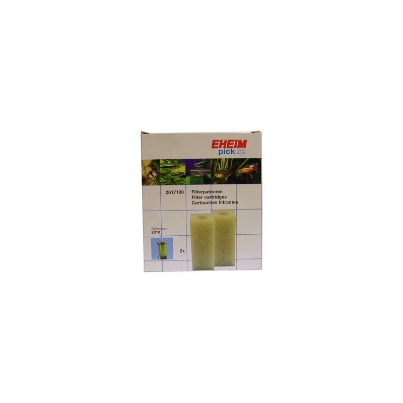 EHEIM 2617100 ricambio Spugna per filtro Pick Up 2010 (2 Pezzi)
