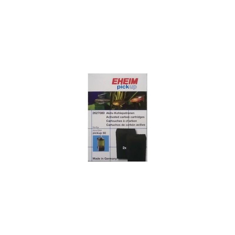 EHEIM ricambio Spugne al carbone per filtro Pick Up 2008 (2 Pezzi)