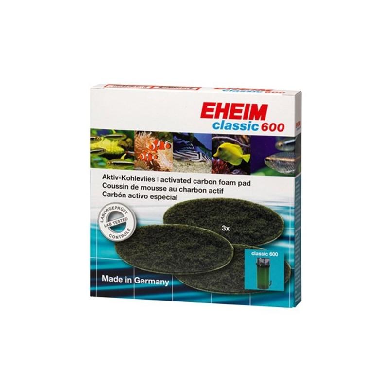 Eheim Spugna Carbone (3 Pezzi) Per Filtro Esterno Classic 2217 / 600