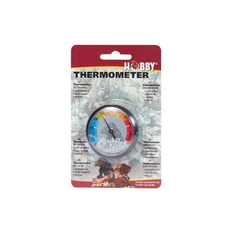 Hobby Termometro analogico per misurare la temperatura nei terrari di rettili