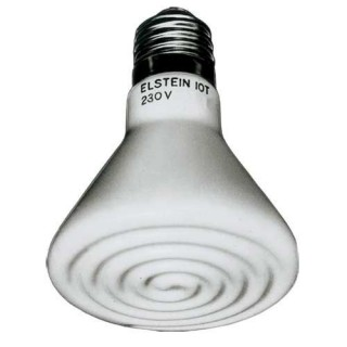 Hobby Radiatore Elstein 60 W lampada riscaldante a infrarossi per rettili da terrario