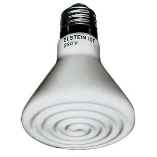 Hobby Radiatore Elstein 150 W lampada riscaldante a infrarossi per rettili da terrario