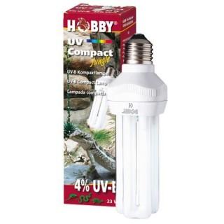 Hobby UV Compact Jungle UV-B 4% 23 W lampada luce per rettili per la sintesi della vitamina D3
