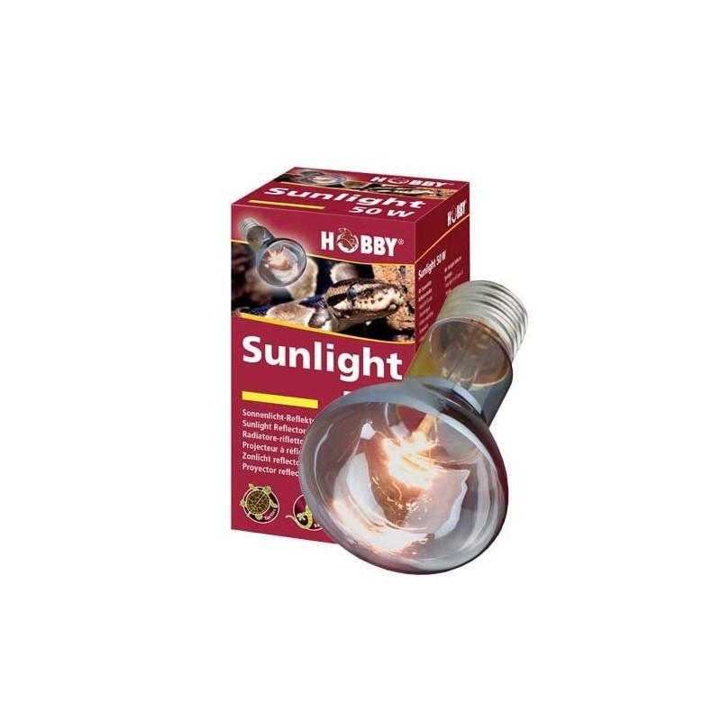 Hobby Sunlight 125 W radiatore lampada solare per rettili in terrario