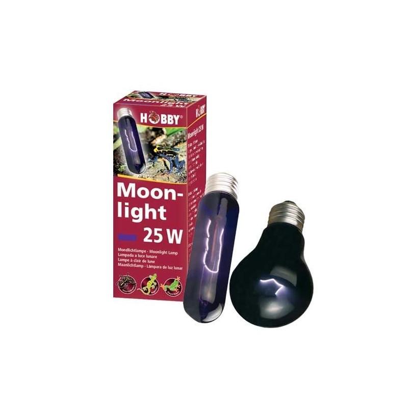 Hobby moonlight 40w lampada luce lunare per rettili for Lampada raggi uvb per tartarughe