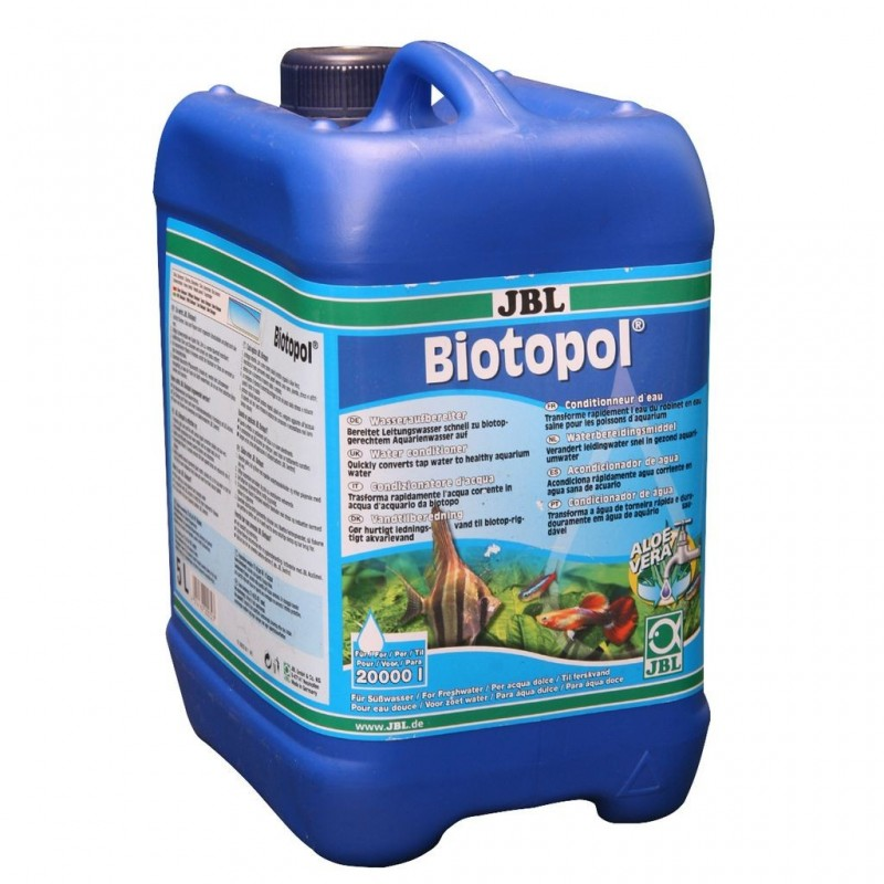 JBL Biotopol biocondizionatore d'acqua confezione allevatori 5000ml per 20000lt