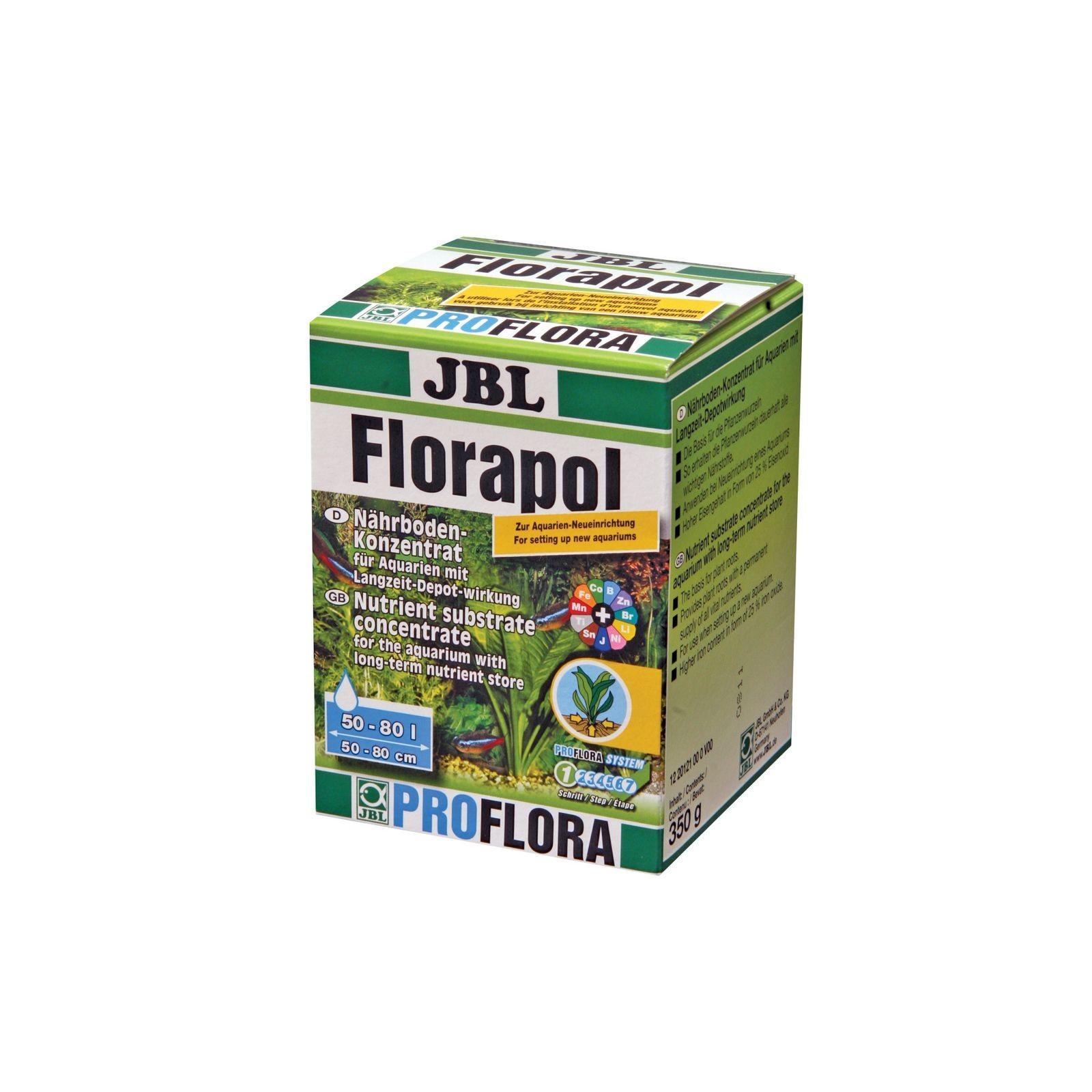 JBL Florapol 350 gr fertilizzante da fondo acquario substrato a lungo termine