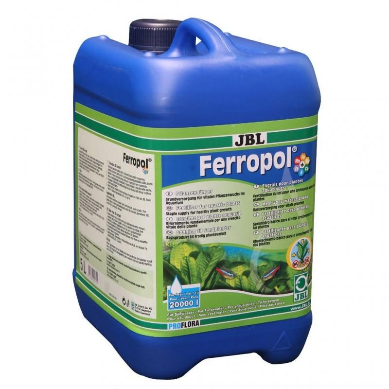 JBL Ferropol fertilizzante liquido completo con microelementi 5000ml ferro per acquario