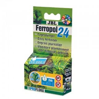 JBL Ferropol 24 10ml Fertilizzante Liquido Giornaliero Fogliare completo con microelementi per acquario