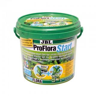 JBL ProFlora Start 100 3 componenti di base per la salute delle piante in acquario 3kg Acquari max 50-100lt