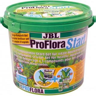 JBL ProFlora Start 200 3 componenti di base per la salute delle piante in acquario 6kg/5l Acquari max 100-200lt