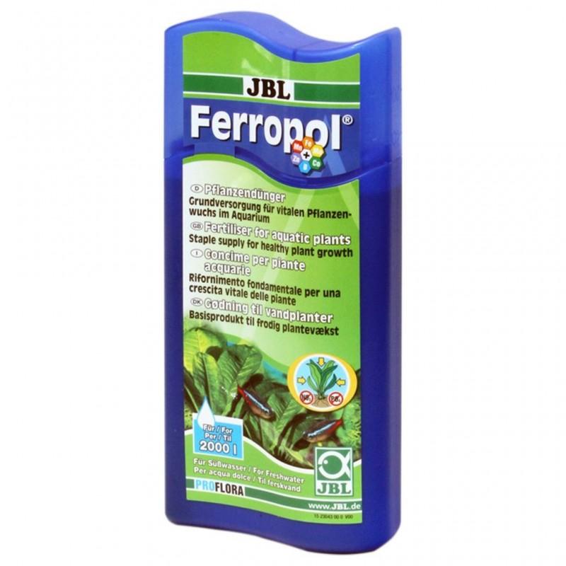 JBL Ferropol fertilizzante liquido completo con microelementi 500ml per 2000lt per acquario