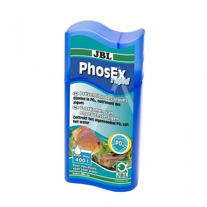 JBL PhosEX Rapid Elimina Velocemente i fosfati in Acqua Dolce 100ml