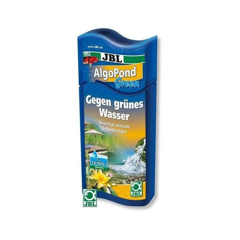 JBL AlgoPond Green 250 ml Elimina il problema con le alghe fluttuanti (acqua verde) nei laghetti