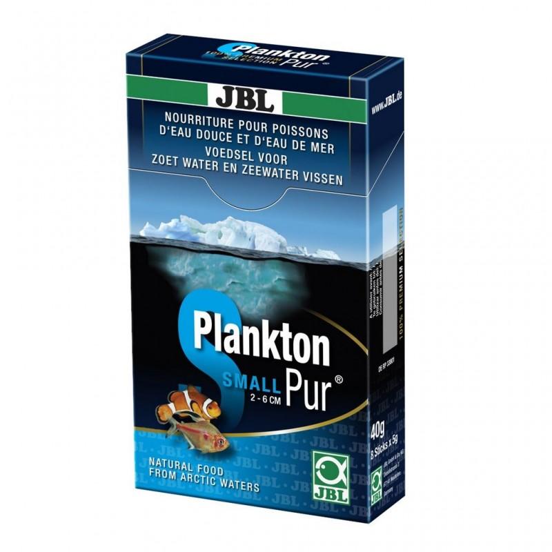 JBL PlanktonPur S 40gr (8X5gr) mangime per pesci d'acquario