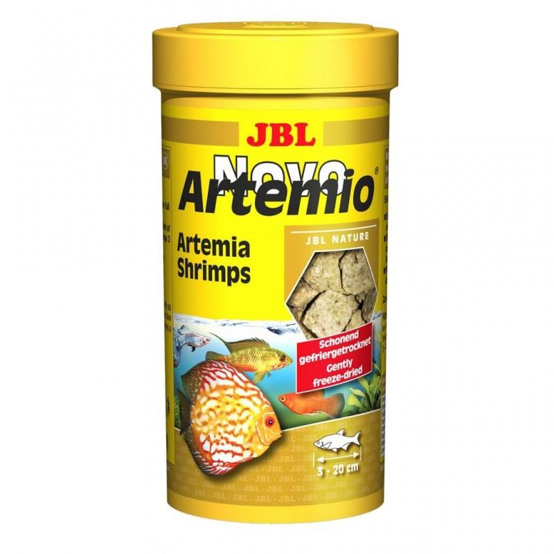 JBL Novo Artemio 250 ml mangime di artemia liofilizzata per pesci d'acquario